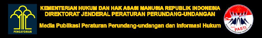 Sistem Informasi Direktorat Jenderal Peraturan Perundang-undangan